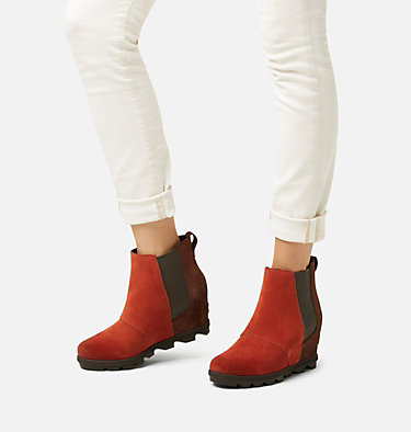 Botte compensée Chelsea en peau de mouton Joan of Arctic™ pour femme JOAN OF ARCTIC™ WEDGE II CHELS | 224 | 6, Carnelian Red, video