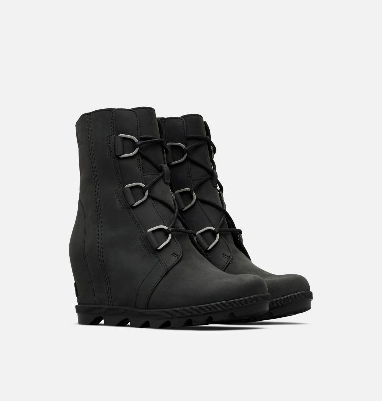 JOAN OF ARCTIC™ WEDGE II | 010 | 12 Women's Joan of Arctic™ Wedge II Boot, Black, 3/4 front