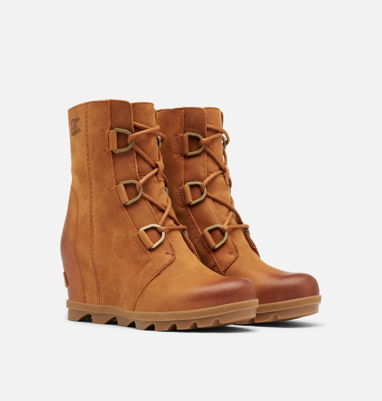 JOAN OF ARCTIC™ WEDGE II | 222 | 9.5 Women's Joan of Arctic™ Wedge II Boot, Iced Tea, 3/4 front