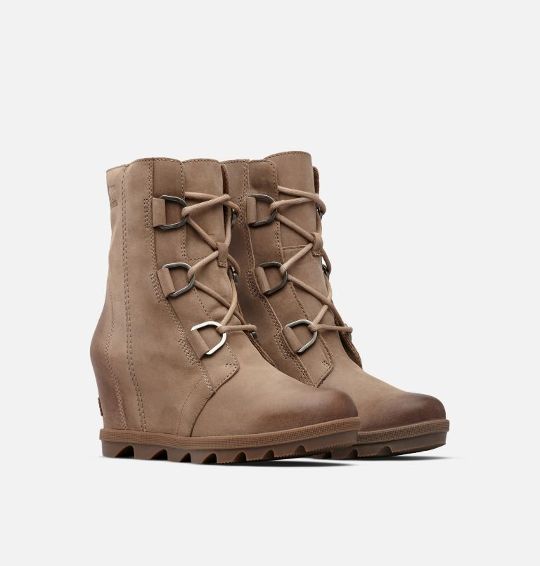 JOAN OF ARCTIC™ WEDGE II | 240 | 12 Women's Joan of Arctic™ Wedge II Boot, Ash Brown, 3/4 front