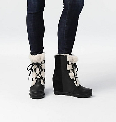 Joan of Arctic™ Wedge II Lammfellstiefel für Damen , video