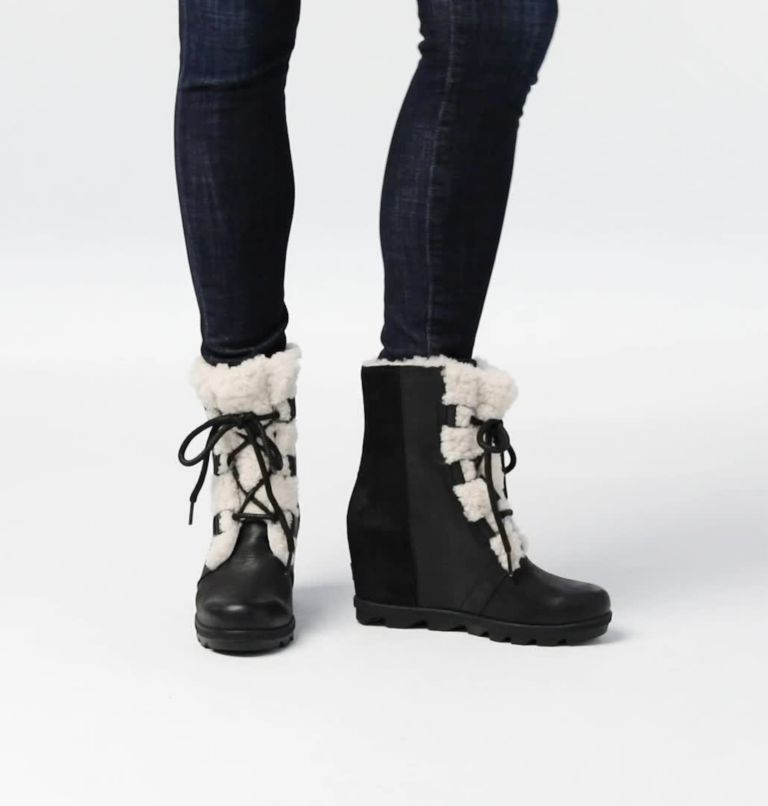 Women's Joan of Arctic™ Wedge II Shearling Boot Women's Joan of Arctic™ Wedge II Shearling Boot, video