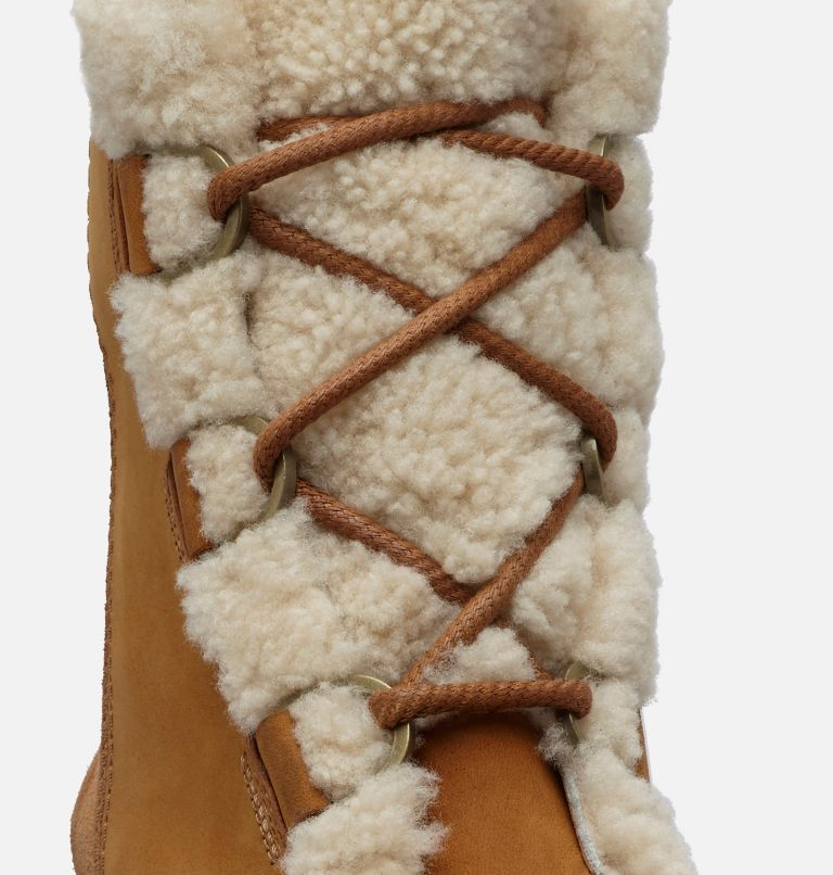 JOAN OF ARCTIC™ WEDGE II SHEAR | 224 | 7.5 Women's Joan of Arctic™ Wedge II Shearling Boot, Camel Brown, a1