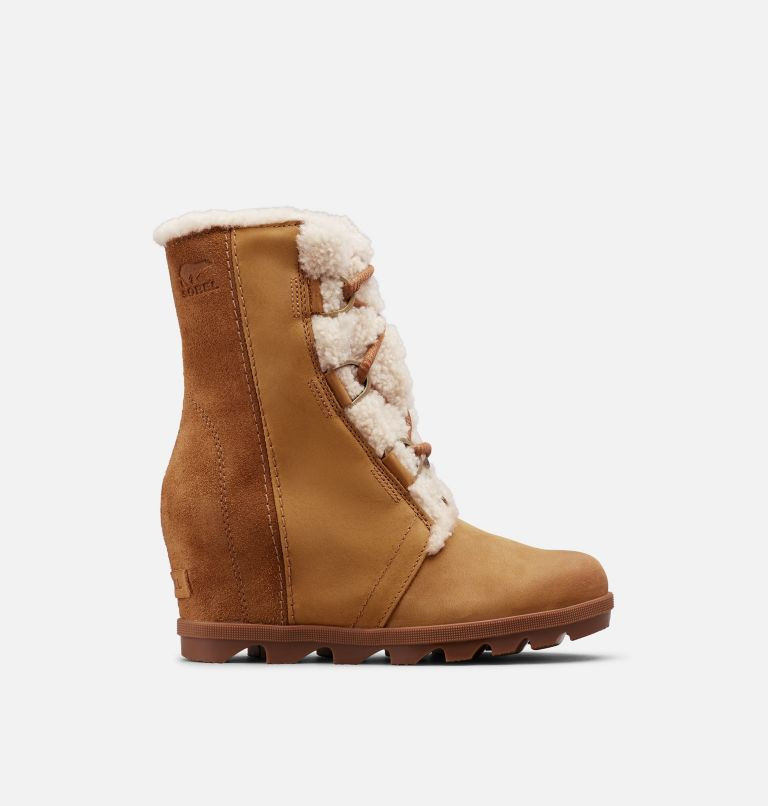 JOAN OF ARCTIC™ WEDGE II SHEAR | 224 | 7.5 Women's Joan of Arctic™ Wedge II Shearling Boot, Camel Brown, front
