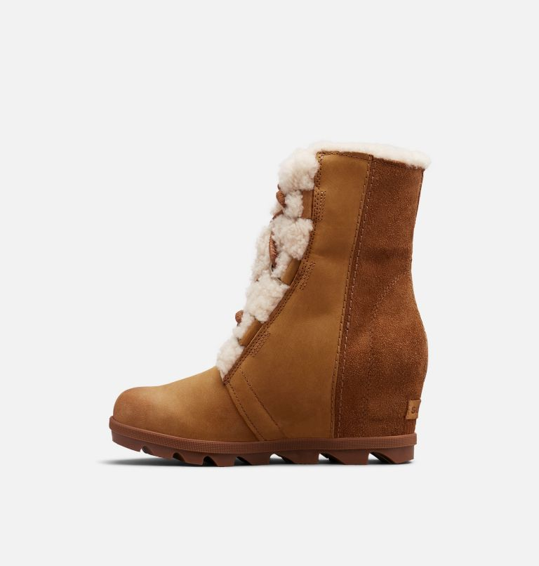 JOAN OF ARCTIC™ WEDGE II SHEAR | 224 | 6.5 Women's Joan of Arctic™ Wedge II Shearling Boot, Camel Brown, medial