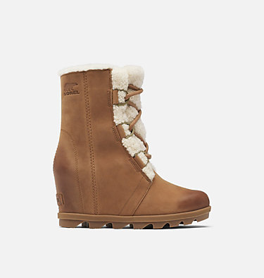 Women's Joan of Arctic™ Wedge II Shearling Boot JOAN OF ARCTIC™ WEDGE II SHEAR | 909 | 9.5, Velvet Tan, front