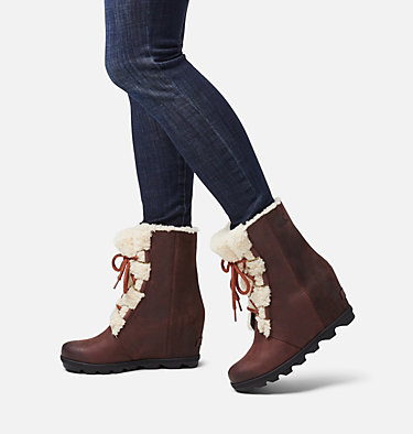 Women's Joan of Arctic™ Wedge II Shearling Boot JOAN OF ARCTIC™ WEDGE II SHEAR | 909 | 9.5, Cattail, video
