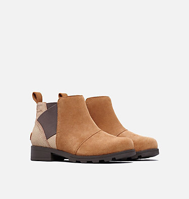 Youth Emelie™ Chelsea Boot YOUTH EMELIE™ CHELSEA | 224 | 1, Camel Brown, Cordovan, 3/4 front