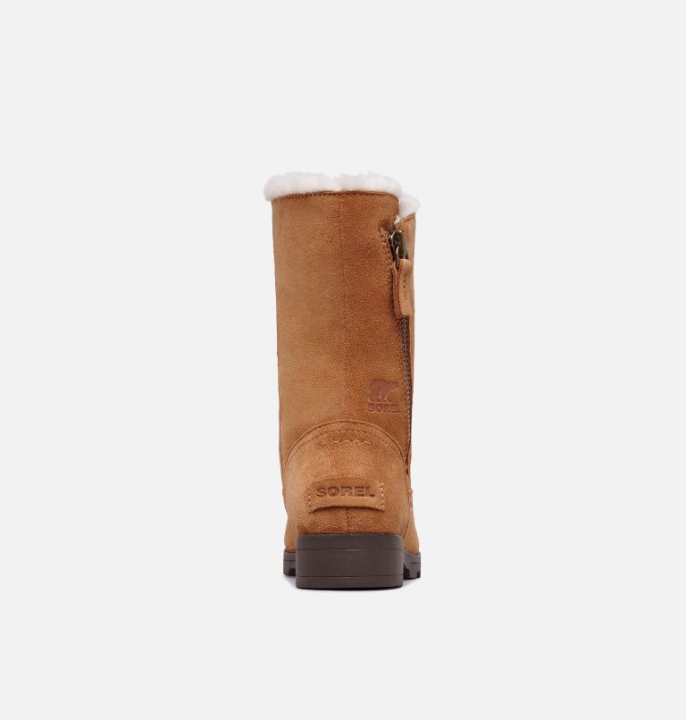 YOUTH EMELIE™ FOLD-OVER | 224 | 4.5 Youth Emelie™ Fold-Over Boot, Camel Brown, Natural, back