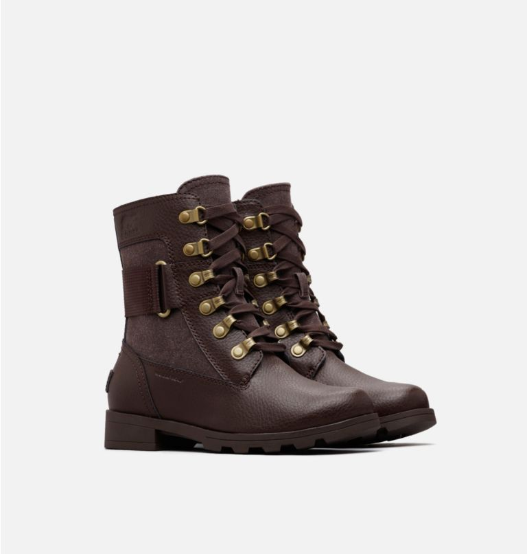 YOUTH EMELIE™ CONQUEST | 908 | 1 Bota Emelie™ Conquest para niños, Cattail, Cattail, 3/4 front