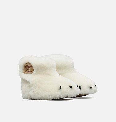 Infant Sorel™ Bear Paw Slipper , 3/4 front