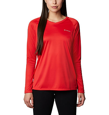 Women's Lake Clark™ Hoodie Lake Clark™EXS Hoodie | 541 | L, Bright Red, front