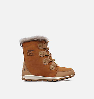Children's Whitney™ Suede Boot CHILDRENS WHITNEY™ SUEDE | 053 | 11, Elk, Natural, front