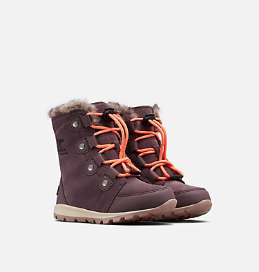 Children's Whitney™ Suede Boot CHILDRENS WHITNEY™ SUEDE | 053 | 12, Purple Sage, 3/4 front