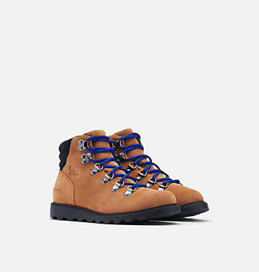 Big Kids' Madson™ Hiker Waterproof Boot   YOUTH MADSON™ HIKER WATERPROOF | 010 | 5, Camel Brown, Black, 3/4 front