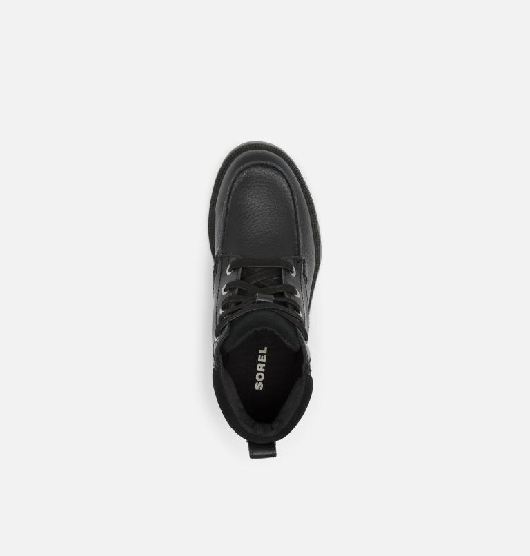 YOUTH MADSON™ MOC TOE WATERPROOF | 011 | 2 Youth Madson™ Moc Toe Boot, Black, Black, top