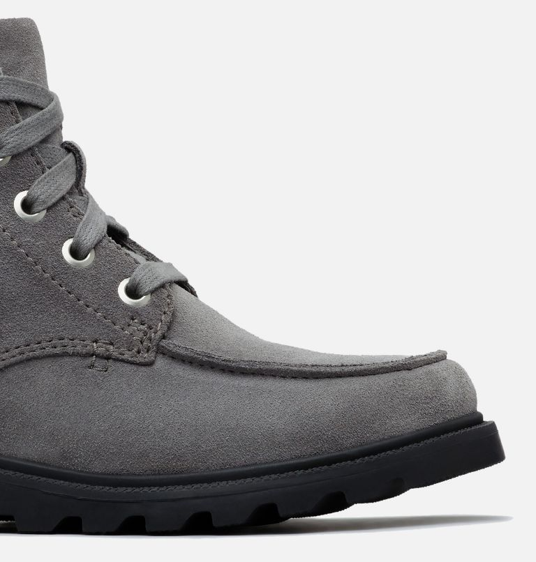 YOUTH MADSON™ MOC TOE WATERPROOF | 052 | 3 Youth Madson™ Moc Toe Boot, Quarry, Chrome Grey, a1