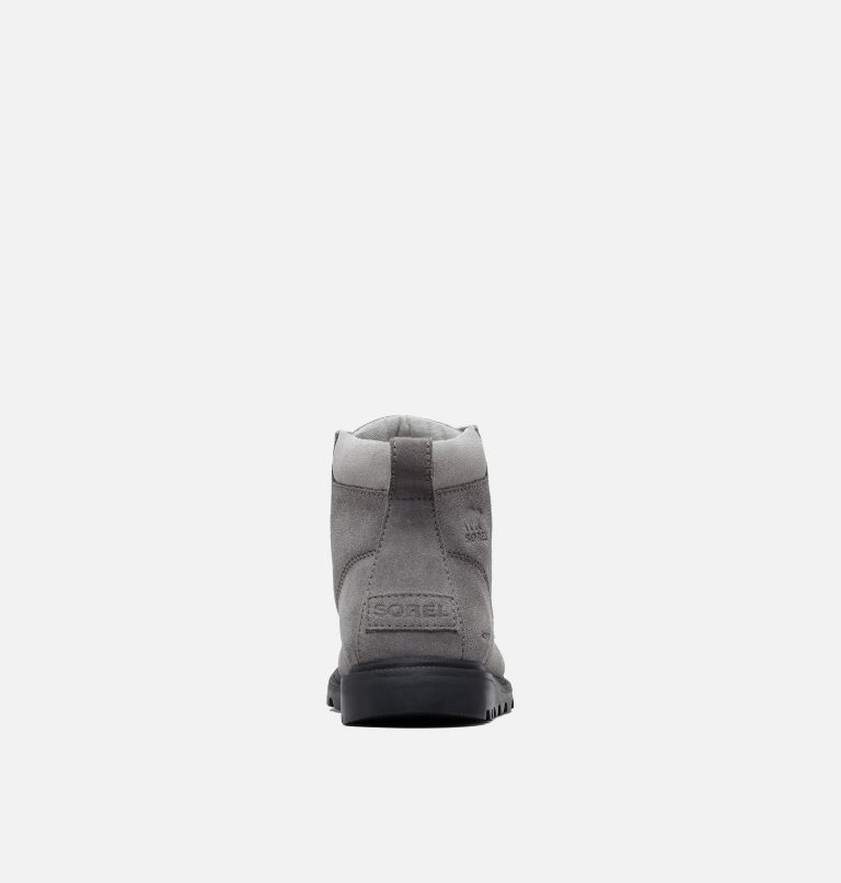 YOUTH MADSON™ MOC TOE WATERPROOF | 052 | 2 Youth Madson™ Moc Toe Boot, Quarry, Chrome Grey, back
