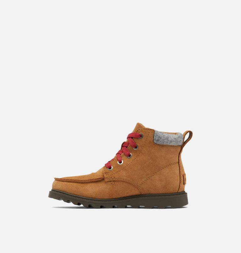 YOUTH MADSON™ MOC TOE WATERPROOF | 286 | 5 Youth Madson™ Moc Toe Boot, Elk, medial