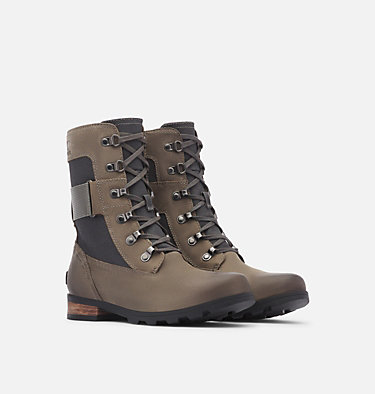 Women's Emelie™ Conquest Boot EMELIE™ CONQUEST | 052 | 10, Quarry, 3/4 front