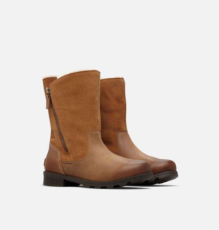 EMELIE™ FOLDOVER | 224 | 6.5 Women's Emelie™ Foldover Boot, Camel Brown, 3/4 front