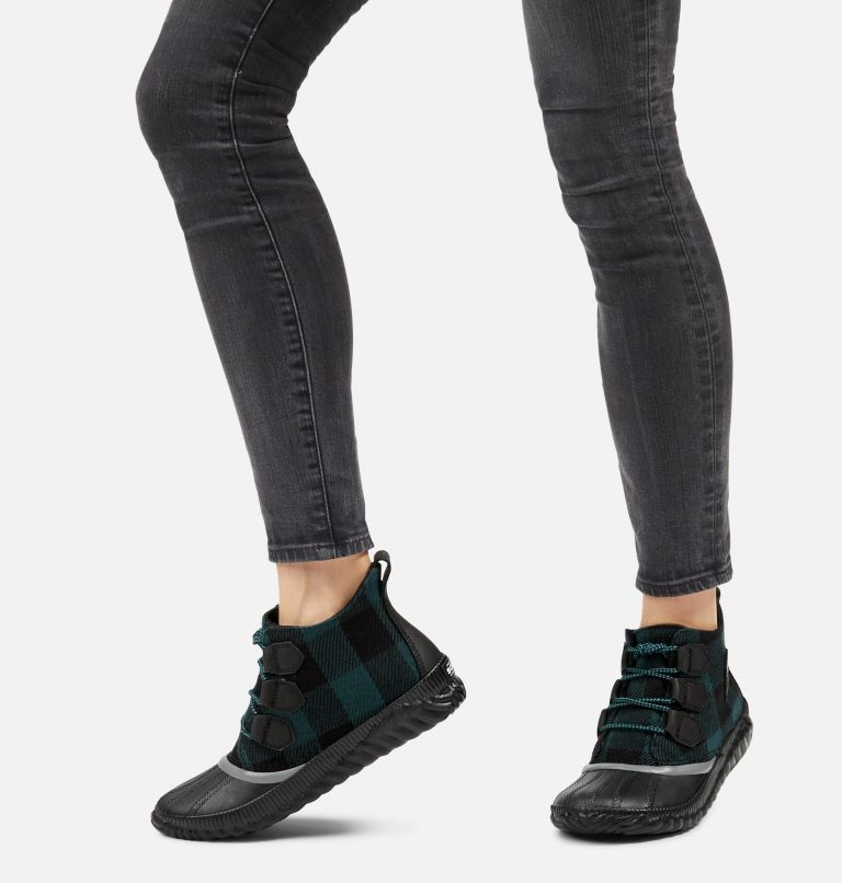 OUT N ABOUT™ PLUS | 010 | 5 Women's Out 'N About™ Plus Boot, Black, Plaid, a9