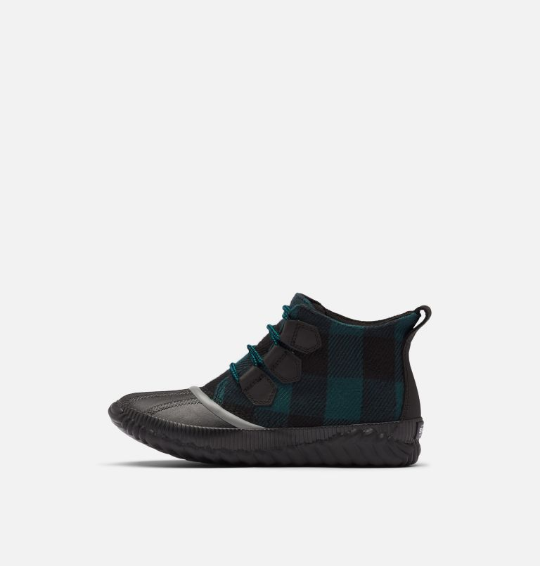 OUT N ABOUT™ PLUS | 010 | 9.5 Women's Out 'N About™ Plus Boot, Black, Plaid, medial