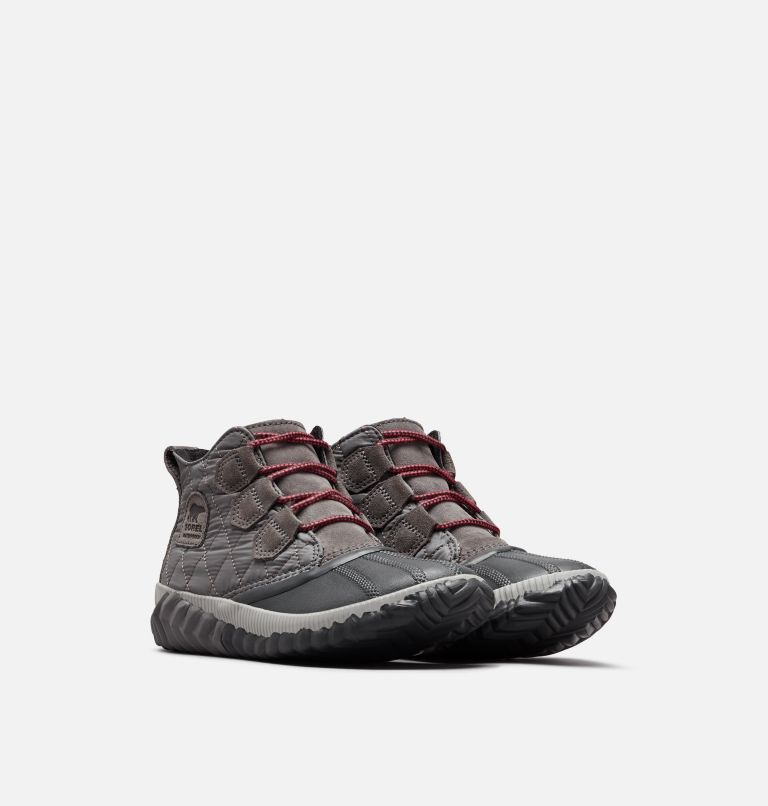 OUT N ABOUT™ PLUS | 052 | 6.5 Women's Out 'N About™ Plus Boot, Quarry, Quilted, 3/4 front