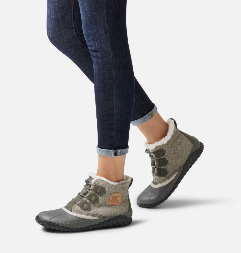 OUT N ABOUT™ PLUS | 257 | 10.5 Women's Out 'N About™ Plus Boot, Natural Tan, Felt, a9