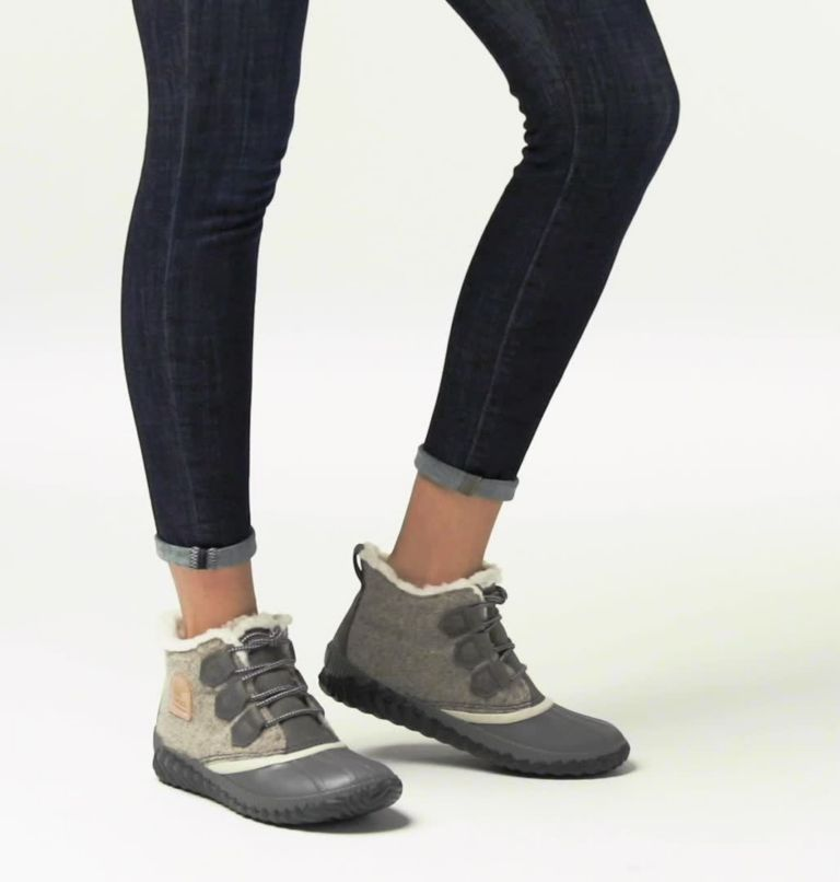 OUT N ABOUT™ PLUS | 257 | 10.5 Women's Out 'N About™ Plus Boot, Natural Tan, Felt, video
