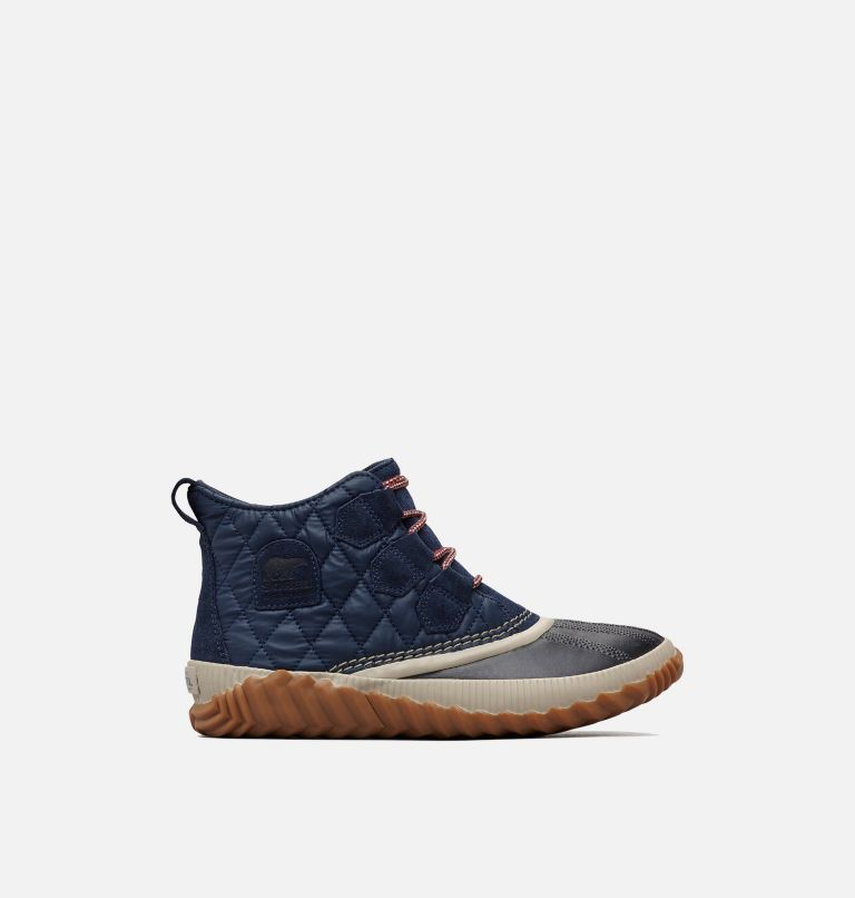 OUT N ABOUT™ PLUS | 464 | 10.5 Women's Out 'N About™ Plus Boot, Collegiate Navy, Quilted, front