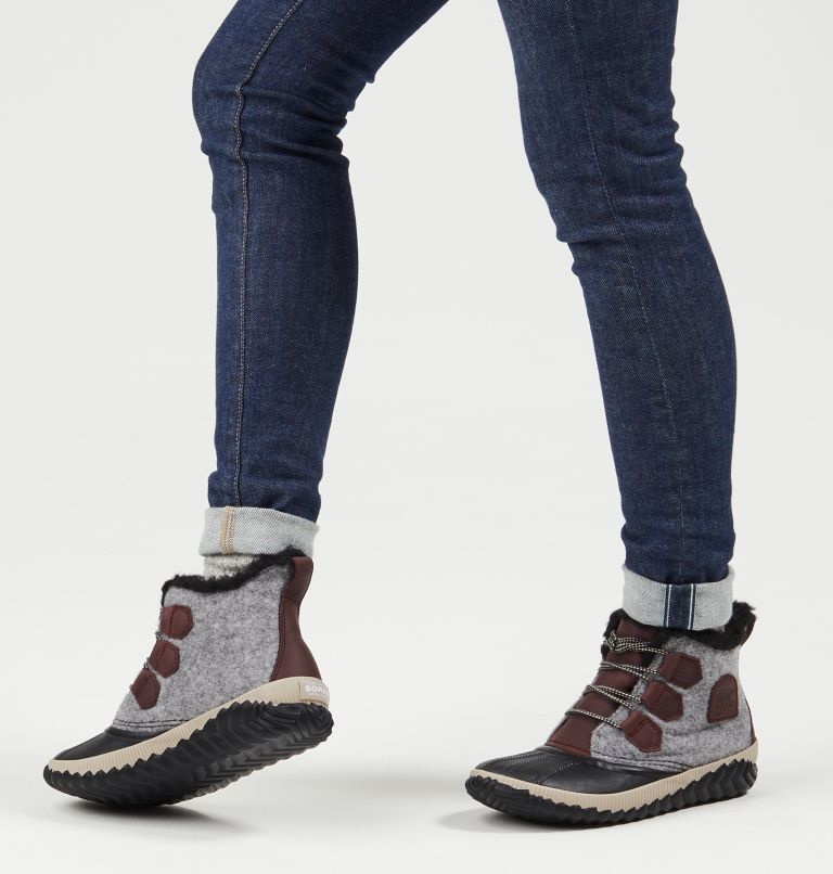 OUT N ABOUT™ PLUS | 628 | 6.5 Women's Out 'N About™ Plus Boot, Redwood, Felt, a9