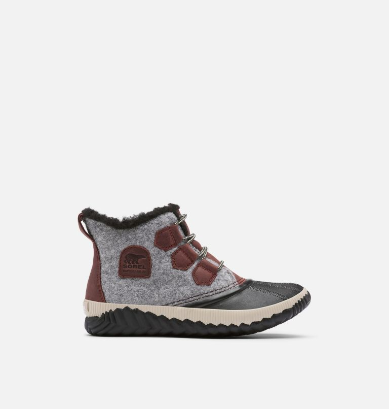 OUT N ABOUT™ PLUS | 628 | 6 Women's Out 'N About™ Plus Boot, Redwood, Felt, front