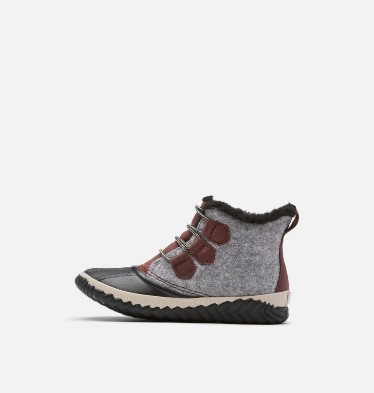 OUT N ABOUT™ PLUS | 628 | 6 Women's Out 'N About™ Plus Boot, Redwood, Felt, medial