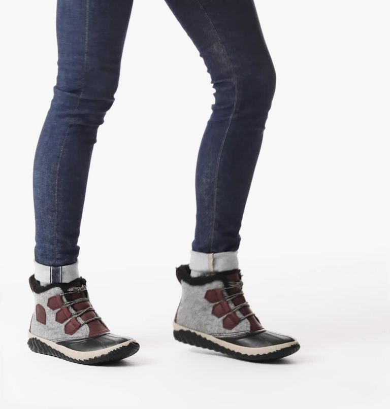OUT N ABOUT™ PLUS | 628 | 6.5 Women's Out 'N About™ Plus Boot, Redwood, Felt, video
