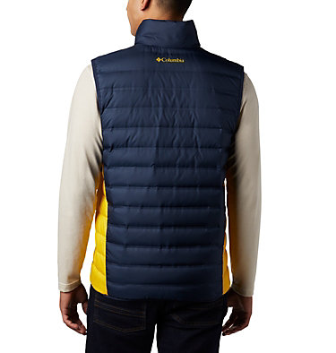 Men's Collegiate Lake 22™ Reversible Vest - Michigan CLG Lake 22™ Reversible Vest | 425 | S, UM - Coll Navy, Coll Yellow, back
