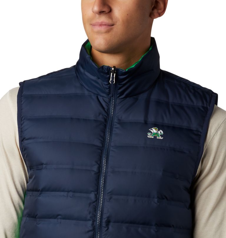 Men's Collegiate Lake 22™ Reversible Vest - Notre Dame Men's Collegiate Lake 22™ Reversible Vest - Notre Dame, a1