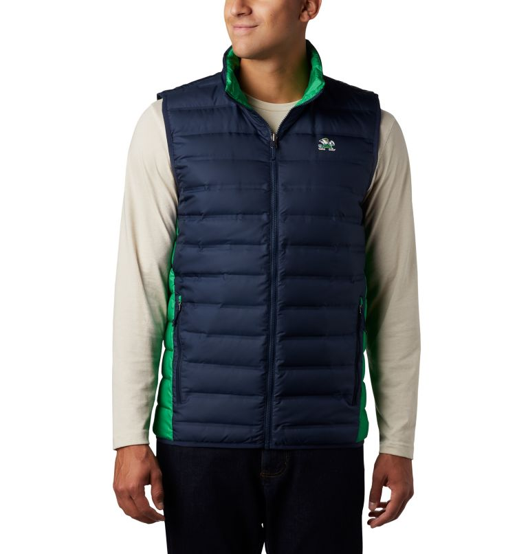 Men's Collegiate Lake 22™ Reversible Vest - Notre Dame Men's Collegiate Lake 22™ Reversible Vest - Notre Dame, front