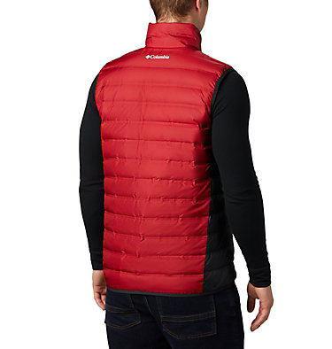 Men's Collegiate Lake 22™ Reversible Vest - Washington State CLG Lake 22™ Reversible Vest | 687 | XXL, WAZ - Red Velvet, Black, back