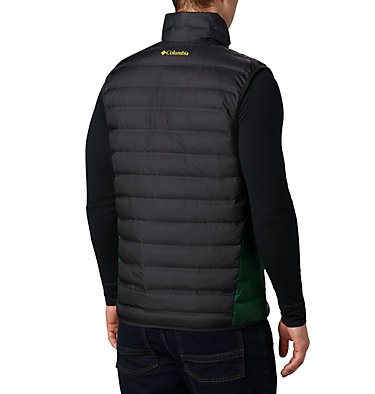 Men's Collegiate Lake 22™ Reversible Vest - Oregon CLG Lake 22™ Reversible Vest | 965 | S, UO - Black, Forest, back