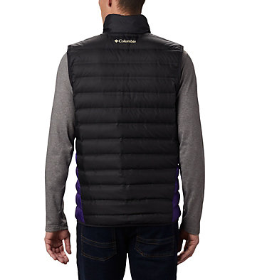 Men's Collegiate Lake 22™ Reversible Vest - Washington CLG Lake 22™ Reversible Vest | 970 | L, UW - Black, UW Purple, back
