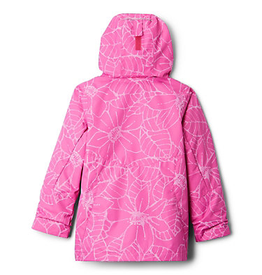 Manteau Bugaboo™ II Interchange isolé pour fille Bugaboo™ II Insulated Intercha | 695 | L, Pink Ice Floral, back