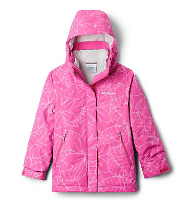 Manteau Bugaboo™ II Interchange isolé pour fille Bugaboo™ II Insulated Intercha | 011 | XXS, Pink Ice Floral, front