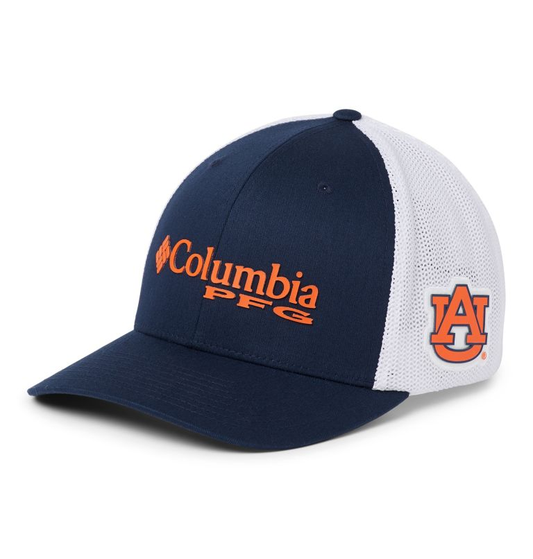 PFG Mesh™ Ball Cap - Auburn PFG Mesh™ Ball Cap - Auburn, front