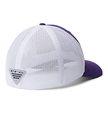 PFG Mesh™ Ball Cap - LSU CLG PFG Mesh™ Ball Cap | 517 | L/XL, LSU - Vivid Purple, back