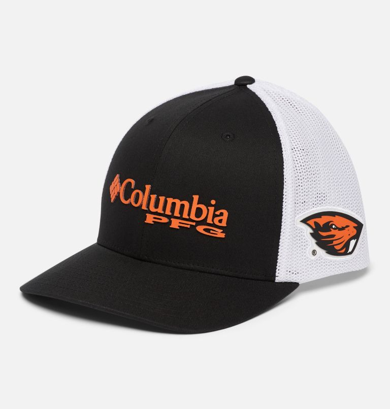 CLG PFG Mesh™ Ball Cap | 975 | S/M PFG Mesh™ Ball Cap - Oregon State, OSU - Black, front