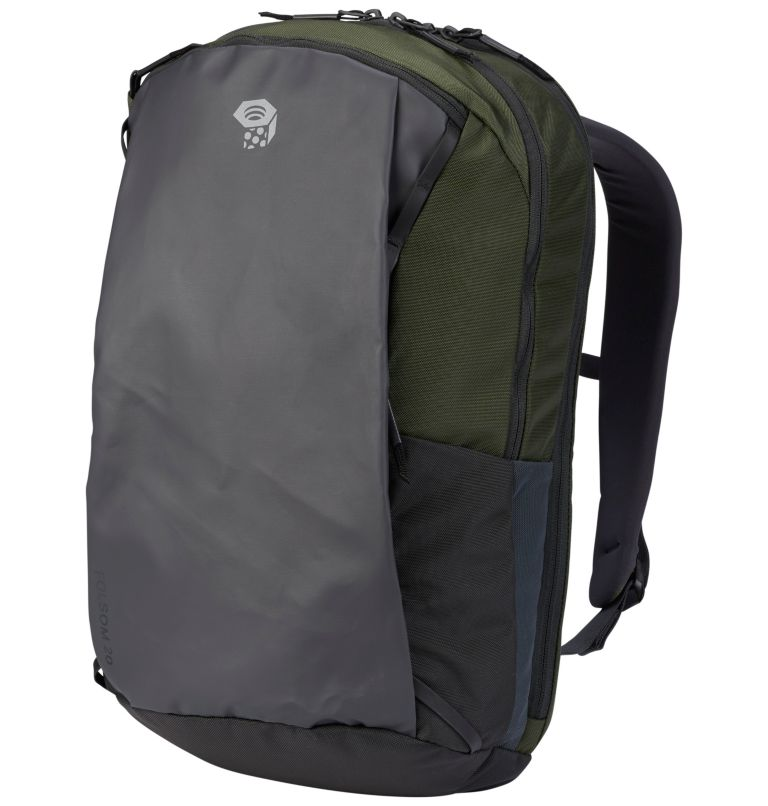 Folsom™ 20 Backpack   347   R Folsom™ 20 Backpack, Surplus Green, Shark, front