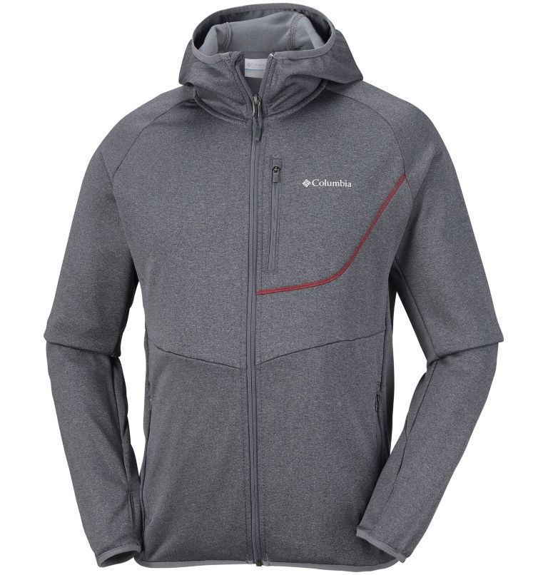 Men's Drammen Point™ Full Zip Hooded Fleece Men's Drammen Point™ Full Zip Hooded Fleece, front