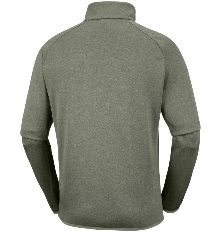 Drammen Point™ Full Zip Fleece | 316 | S Men's Drammen Point™ Full Zip Fleece, Cypress Heather, back