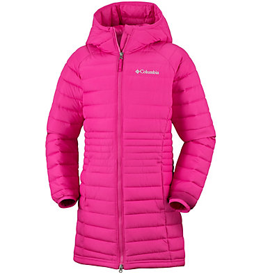 Powder Lite™ Girls Mid Jacket , front